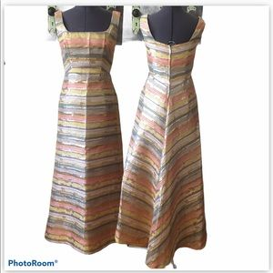 Vintage Party Time Fashion '60's Shimmery Dress